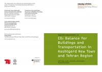 CO2-Balance for Buildings and Transportation in Hashtgerd New Town and Tehran Region